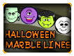 Halloween Marble Lines Kids Online Game